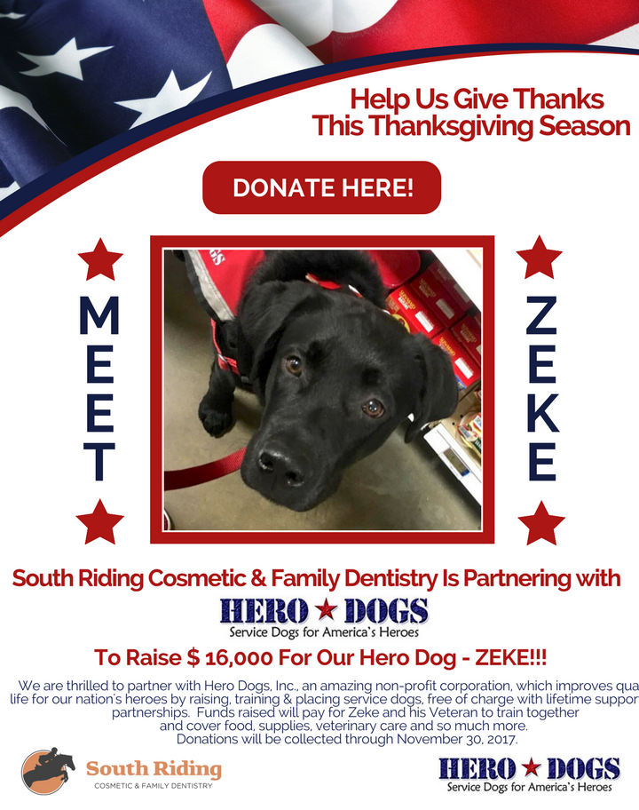 Hero Dogs Fundraiser